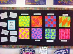 4th Grade Classroom Themes   4th Grade Geometry Unit: Math by Design   Classroom Ideas