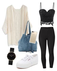 """""""Untitled #90"""" by alessiacaravetta on Polyvore featuring Venus, Chicwish, Superga, GM Studio, Speck, CLUSE and plus size clothing"""