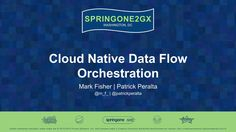 Mark Fisher and Patrick Peralta provide an overview of the Spring Cloud Data Flow architecture – including how it evolved out of Spring XD. Additionally, they deploy a streaming application on each of the supported runtimes in a live demo.