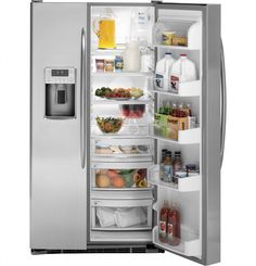 Ge Profile Arctica Side By Refrigerator With Dispenser Ideas