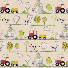 Orchard 2 - Kids Fabrics - Decorator Fabrics