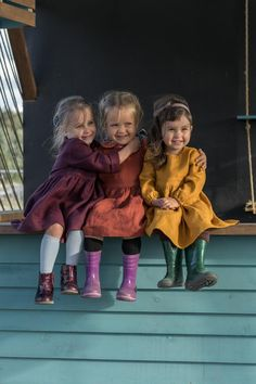 Vestido de lino para niño para niña Vestido de otoño para niña   Etsy