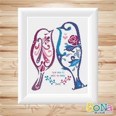 Wedding cross stitch pattern. Surprise the wedding couple with this ...