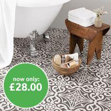 Devonstone Grey Feature Floor Tiles