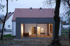 Einblick Neubau - Sanierung und Neubau Wohnhaus Beer-Fuchs
