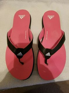 52833d18e88b Womens Adidas flip flop size 9  fashion  clothing  shoes  accessories   womensshoes