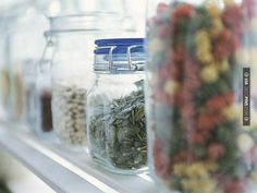 """So awesome - Keep an Eye on Freshness  To help keep track of your perishables, do what Arlen Gargagliano, chef/owner of Mambo 64 in Tuckahoe, NY, does to make sure the ingredients in recipes like her chimichurri are always fresh. """"Label items not only with the content,"""" says Gargagliano, """"but with the date they were opened."""" 