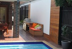 Looking for interior design ideas? Australian made and delivered Australia wide, wall panels are the WOW factor you've been looking for. Outdoor Spaces, Outdoor Decor, 3d Wall Panels, Old Wall, Decorative Panels, Just Relax, Outdoor Entertaining, Interior Design, Furniture