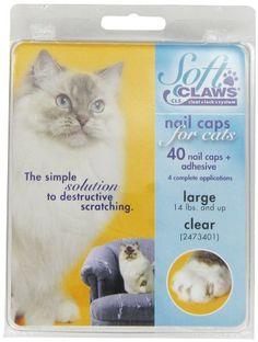 Aus der Kategorie Krallenpflege  gibt es, zum Preis von   <br>Für weniger als 4,00 Euro im Monat, adoptieren Sie die revolutionäre Lösung gegen Kratzer und Beschädigungen durch Katzenkrallen  <br>  <br>- Von zahlreichen Tierärzten in Europa erprobt und befürwortet  <br>- Wird weltweit bereits von millionen Katzenbesitzern eingesetzt  <br>- Garantierte Wirksamkeit und ganz ohne Ihre Katze zu beinträchtigen  <br>  <br>  <b>SOFTCLAWS® KRALLENSCHUTZES</b>  <br>  <br>  <b>Die innovative Lösung…