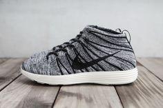 #Nike Lunar Flyknit Chukka Black/White/Sail