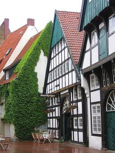 Quaint Houses in Osnabrück, Germany - The City of Peace