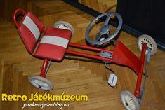 A pedálos gokart, ami annyira hozzátartozott a játszóterek képéhez mint a Csepel BMX vagy a pedálos Moszkvics.