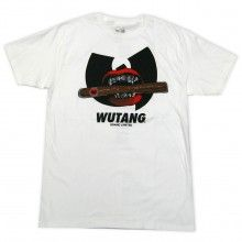 WuTang Brand Limited Dutch Tee in White Red & Black