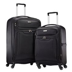 Samsonite Ultralite Extreme 2 Piece Softside Spinner 4 Wheel Luggage Set *** Click image to review more details.