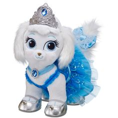 Silver Sparkles Disney Palace Pets Pumpkin - Build-A-Bear Workshop US