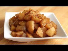 Potato side dishes (Gamjabokkeum: 감자볶음)