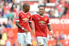 United winger Ashley Young (left, pictured with Memphis Depay)