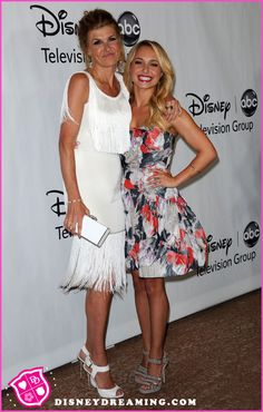 """Connie Britton And Hayden Panettiere Promote """"Nashville"""" Nashville Tv Show, Connie Britton, Hayden Panettiere, Queen Hair, Disney Stars, Celebs, Celebrities, Country Music, Taylor Swift"""