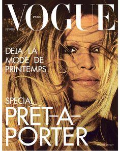 Film and the covers of Vogue Paris: Brigitte Bardot on the February 1973 cover of Vogue Paris