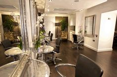 Brooks award-winning London hair salon, designed by SSG