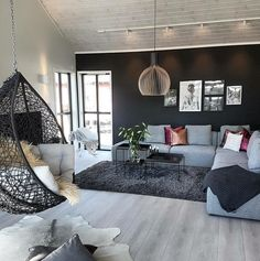 25 best living room decoration for modern house interior design 18 - For the Home - Architektur Small Apartment Living Room, Living Room Inspiration, Modern Home Interior Design, Living Room Design Inspiration, Apartment Design, Modern Houses Interior, Living Decor, House Interior, Modern Apartment Decor