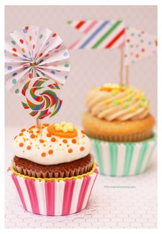 Carrot Cake and Passion Fruit Cupcakes by theresahelmer on DeviantArt