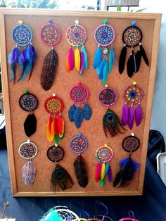 Dream catcher Making your own is a breeze with this quick tutorial! Dream Catcher For Car, Making Dream Catchers, Dream Catcher Decor, Dream Catcher Boho, Dream Catcher Necklace, Diy Dream Catcher Tutorial, Crochet Dreamcatcher, Dreamcatcher Keychain, Beautiful Dream Catchers