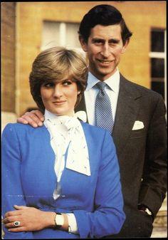 Ansichtskarte / Postkarte Portrait von Prinz Charles und Prinzessin Diana | akpool.de