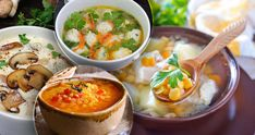 Teplý vývar je ideální do podzimního počasí. Thai Red Curry, Ethnic Recipes, Food, Essen, Meals, Yemek, Eten