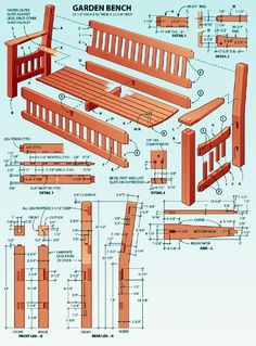 how to make your own bench - Google Search