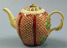 Cream Ware Tea Pot The Leeds Pottery (1758-1878)