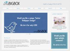 Little Big Box: http://www.littlebigbox.co.uk/