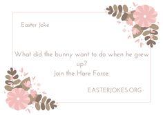 Easter Joke Easter Jokes, Easter Cartoons, Rabbit Jokes, Easter Bunny, Easter Eggs, Work Jokes, Easter Parade, Cartoon Jokes, Jokes For Kids