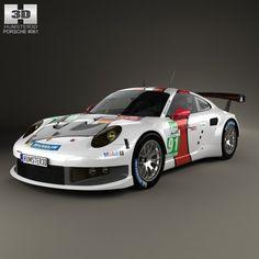 3D Model Car 2 Carrera - 3D Model