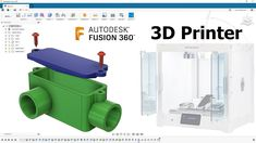 Go From Fusion 360 To Printer — Tutorial — 180 3d Design, Print Design, Websites Like Etsy, Autodesk Inventor, 3d Printable Models, Cad Cam, 3d Printing Service, Modeling Tips, New Uses