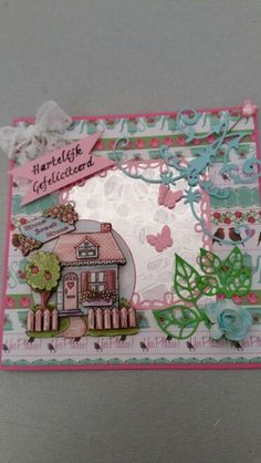 Een kerstkaart met plaatje van Yvonne Creations | My works ...