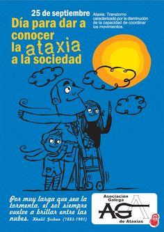 25 de septiembre: Día Internacional de la Ataxia