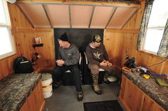 Tricked Out Ice Fishing Houses | In-Fisherman