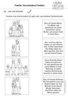 Arbeitsblatt: Familie