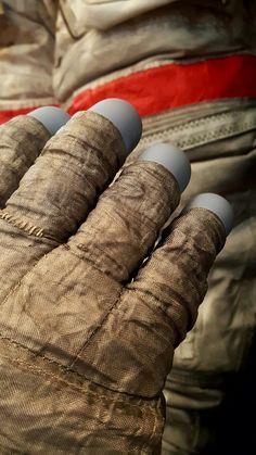 A7-LB EV right glove, David Scott, Apollo 15.