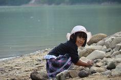 Play near the shirayama lake, Japan