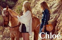 Chloe/2015春夏広告ビジュアル
