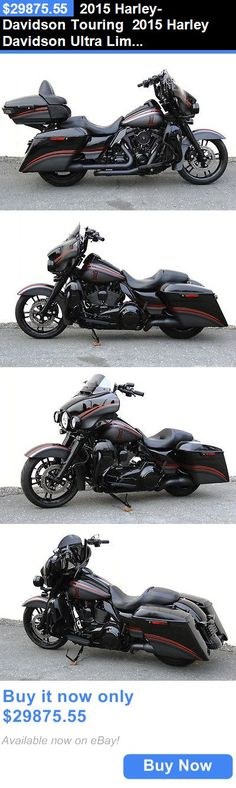 Motorcycles: 2015 Harley-Davidson Touring 2015 Harley Davidson Ultra Limited Low - Fully Blacked Out - Street Glide - L@@K BUY IT NOW ONLY: $29875.55