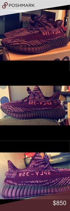 """EXCLUSIVE PRE-DROP """"Red Night"""" Yeezy V2 Boost. -Size 11 US Men's  -DEADSTOCK OG Everything  -Got some of the new """"Red Night"""" V2 350 Yeezy Boosts  Even more amazing in person, pics don't do it justice. Please no negativity  on my page, all love! ?'s txt (480) 808-9979 Yeezy Shoes Sneakers"""