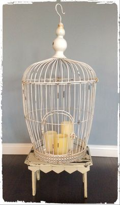 Rusty Metal Bird Cage