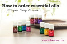how to order essential oils from www.kulamama.com
