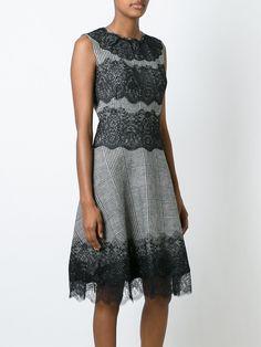 Ermanno Scervino lace insert dress
