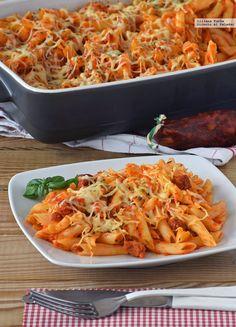 Es curioso cómo el concepto anglosajón de comfort food suele aplicarse muchas veces a platos de pasta. Algo tiene que a todos nos encanta, cada u...