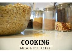 Cooking as a Life Skill - important cooking tips and recipes for kids in the kitchen