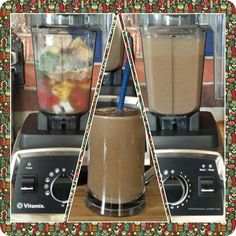 """""""Throw It All In"""" Smoothie  1 cup coconut water  1/4 cup coconut milk yogurt  3 fresh strawberries  1 tsp flax seeds  1 tsp hemp seeds  1 scoop Amazing Grass Dreamsicle Green Superfood  1 scoop MegaFood Daily Turmeric  1/2 scoop PlantFusion protein powder  1 tsp each of camu camu, maqui, and acai powder  1/2 Tblsp goji berries  2/3 cup frozen pineapple  1 1/2 cups frozen baby spinach 1/2 frozen banana  #Vitamix #vegan #healthy #plantbased #dairyfree #fruit #superfoods #acai #maqui #goji"""